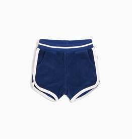 Miles Baby Miles Baby Navy Infant Terry Cloth Shorts