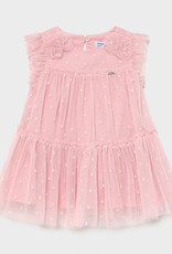Mayoral Mayoral Pink Tulle Dress
