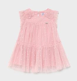 Mayoral Mayoral Pink Tulle Dress