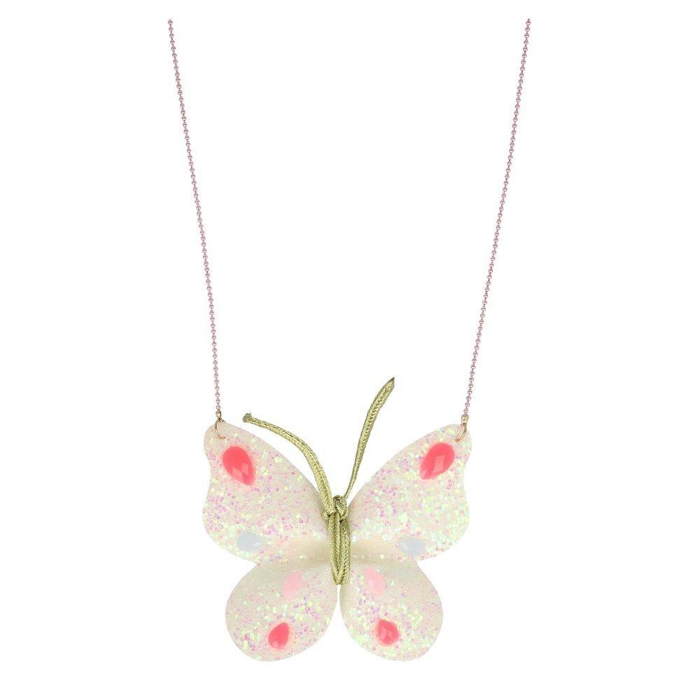 meri meri Meri Meri Glitter Butterfly Necklace