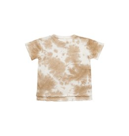 Rylee and Cru Rylee and Cru Tie Dye Raw Edge Tee