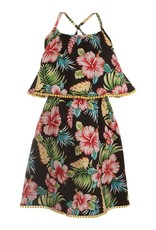 Appaman Appaman Lee Dress Hibiscus