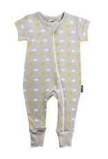 Parade Organics Baby Co. Parade S/S Zipper Romper