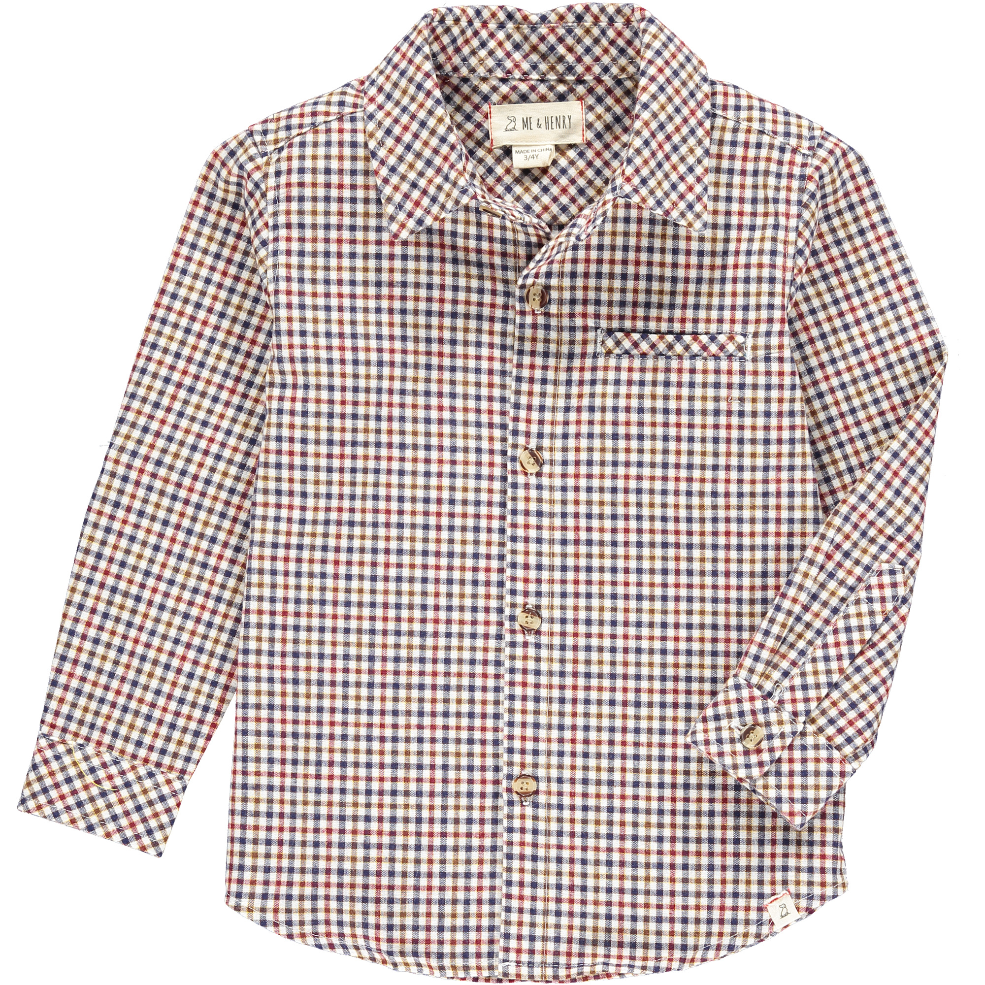 Me & Henry Me & Henry Atwood Checked L/S Shirt