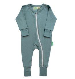 Parade Organics Baby Co. Parade Essential Basic L/S Zipper Romper