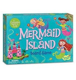 Peaceable Kingdom Mermaid Island Board Game