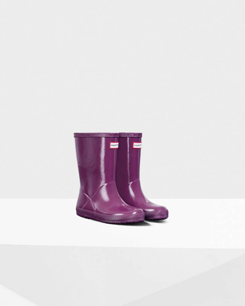 Hunter Hunter First Classic Gloss Rain Boot