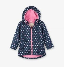 Hatley Hatley Microfiber Jacket Dots and Rainbows