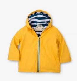 Hatley Hatley Splash Jacket Yellow and Navy