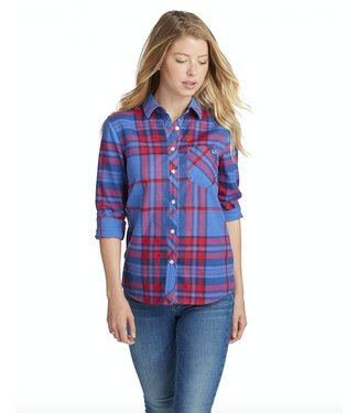 Vineyard Vines Vineyard Vines Northern Plaid Flannel Button Down