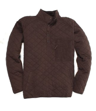 Southern Proper Southern Proper Barrett Quilted Pullover