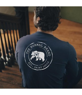 The Normal Brand The Normal Brand Circle Back L/S Tee