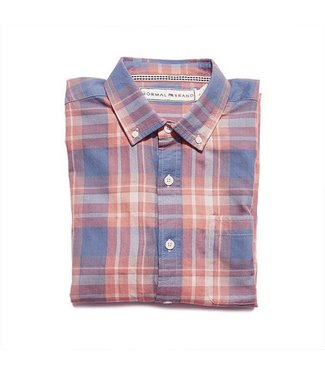 The Normal Brand The Normal Brand Nicholas Tartan Twill