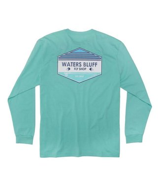 Waters Bluff Fly Shop OG LS Tee