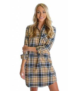 Lauren James Lauren James Dakota Flannel Dress