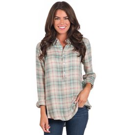 Southern Shirt Co. Southern Shirt Co. Taylor Tunic Pullover Birmingham