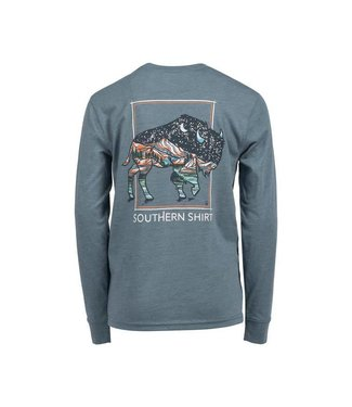 Southern Shirt Co. Southern Shirt Co. Boys Buffalo Rock L/S