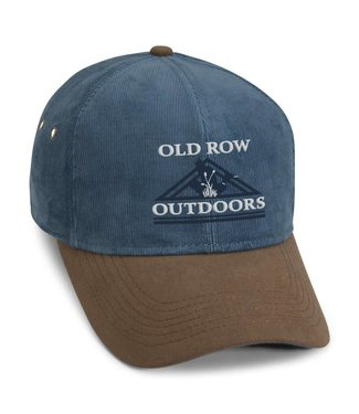 Old Row Outdoors Corduroy Hat Blue