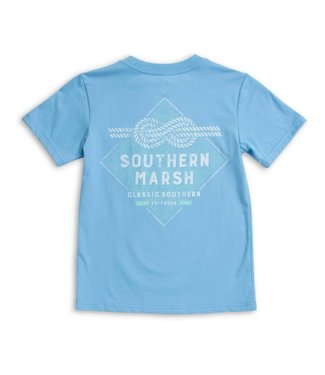 Southern Marsh Southern Marsh Youth Branding Nautical Knot S/S