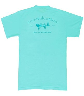 Coastal Cotton Coastal Cotton Classic Logo S/S Tee