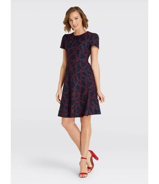 Draper James Draper James Puff Sleeve Dress