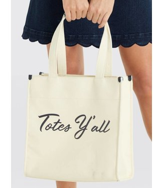 Draper James Draper James Totes Y'all Canvas Tote