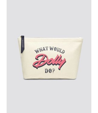 Draper James Draper James What Would Dolly Do Canvas Pouch