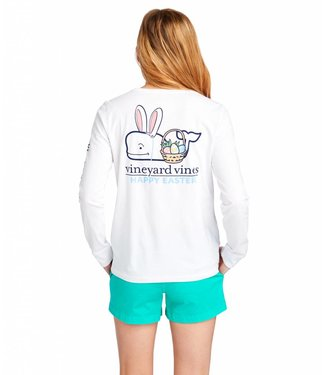 Vineyard Vines Vineyard Vines Easter Basket L/S Pocket Tee
