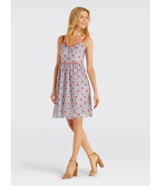Draper James Draper James Floral Lace Camisole Dress