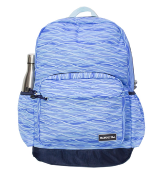 Properly Tied Properly Tied Printed Backpack Ocean Drift