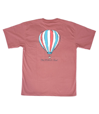 Properly Tied Properly Tied Lil' Ducklings Hot Air Balloon S/S