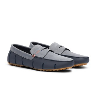 Swims Swims Penny Lux Loafer Driver Nubuck