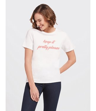 Draper James Draper James Keep It Pretty Please Tee