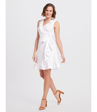 Draper James Draper James Ruffle Wrap Dress