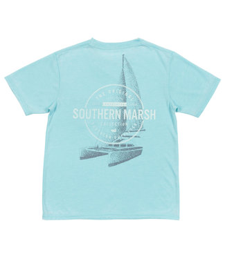 Southern Marsh Southern Marsh Youth Seawash Tee Sail Away S/S