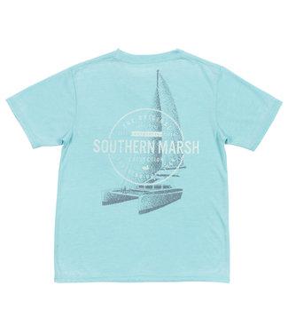 Southern Marsh Southern Marsh Youth Seawash Tee Sail Away S/S