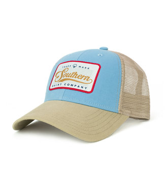 Southern Shirt Co. Southern Shirt Co. Patch Trucker Hat Dusk Blue