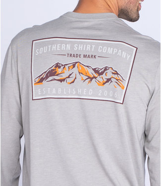 Southern Shirt Co. Southern Shirt Co. Mountain Stamp L/S Tee