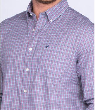 Southern Shirt Co. Southern Shirt Co. Cumberland Check L/S Blue Night