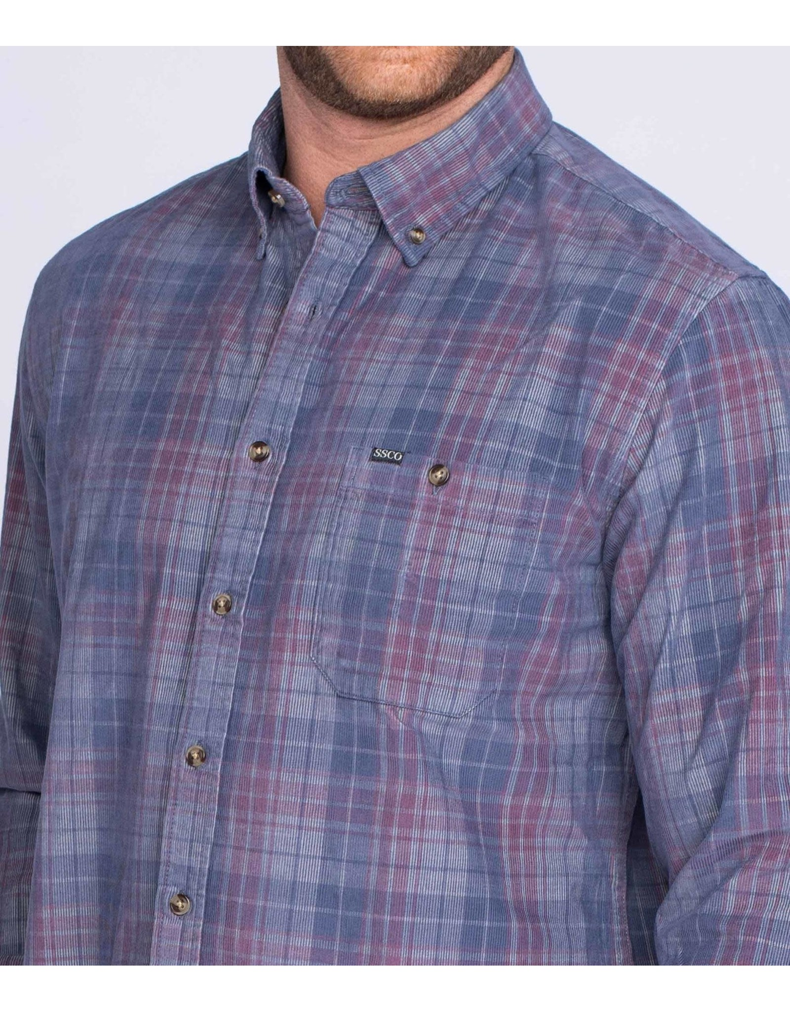 Southern Shirt Co. Southern Shirt Co. Braxton Lightweight Flannel L/S