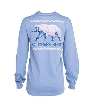 Southern Shirt Co. Southern Shirt Co. Colorful Bear L/S Tee