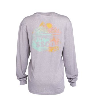 Southern Shirt Co. Southern Shirt Co. Watercolor Wilderness L/S Tee
