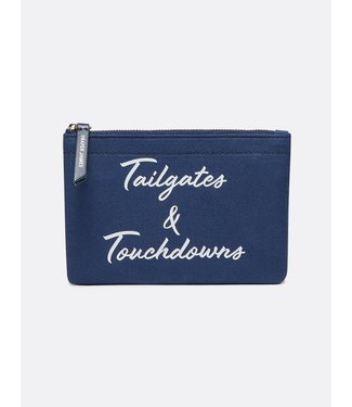 Draper James Draper James Tailgates & Touchdowns Canvas Pouch