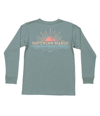Southern Marsh Southern Marsh Youth Branding Sunset L/S
