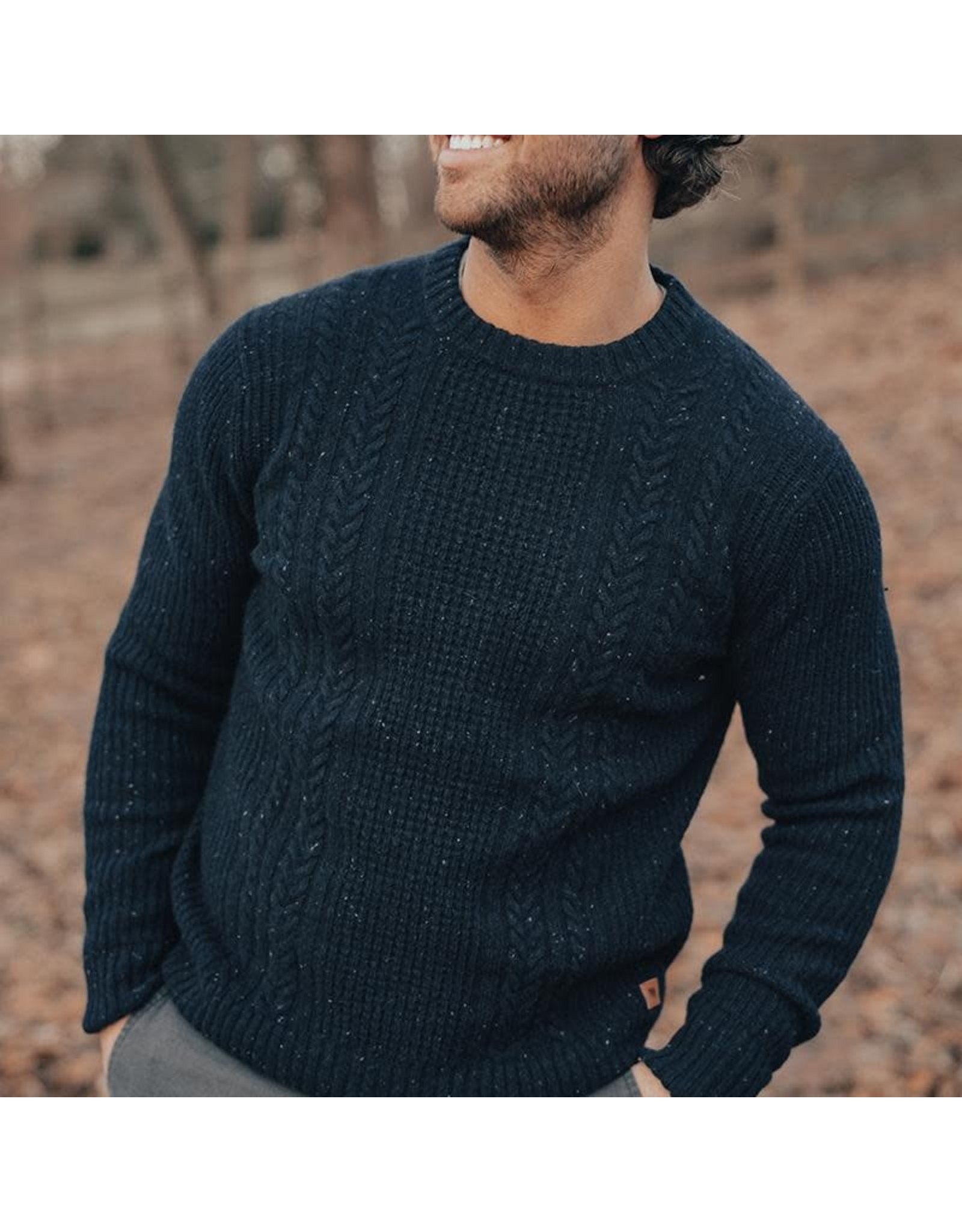 The Normal Brand The Normal Brand Kennedy Crew Sweater