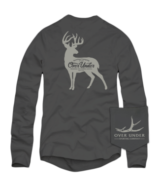 Over Under Over Under Whitetail Silhouette L/S Tee