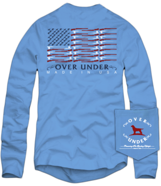 Over Under Over Under Shotgun Flag L/S Tee