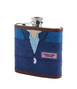 Smathers and Branson Smathers and Branson Vineyard Vines Shep Shirt Flask