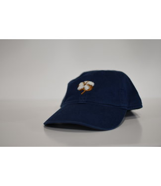 Smathers and Branson Cotton Boll Hat in Navy