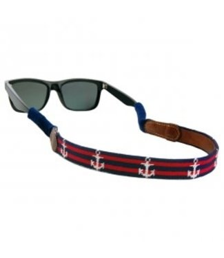 Smathers and Branson Striped Anchor Sunglass Strap